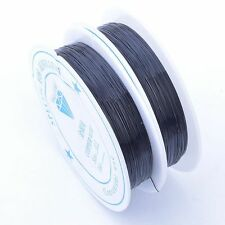 0.3mm 20meter Metal Wire Cord Jewellery Tiara Beading Craft Making 10 Colors
