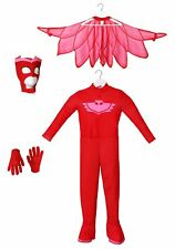 Disguise Owlette Deluxe Toddler PJ Masks Jumpsuit With Attached Boot Covers