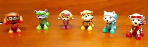 Paw Patrol ALL STARS LOT OF 6 PUPS!! Action Pack Figures!! Everest Included!!