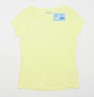 George Womens Size 12 Yellow T-Shirt (Regular)