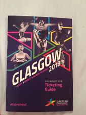 Glasgow European Championships 2018 Official Ticketing Guide August Collectable