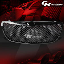 FOR 04-06 CHRYSLER SEBRING ST-22/JR BLACK FRONT SPORT BUMPER MESH GRILL/GRILLE
