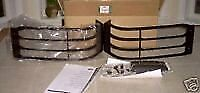 Land Rover Brand Genuine Discovery 2 2003-2004 Front Lamp Guard Set Brand New