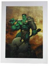 Sideshow Collectibles King Hulk Premium Art Print Marvel Sample Ariel Olivetti