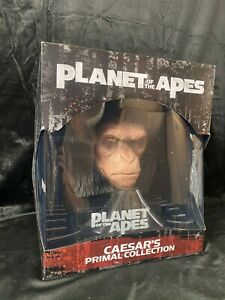 "WETAWORKSHOP PLANET OF THE APES ""CAESAR'S PRIMAL COLLECTION"" 1:2 PVC FIGURE BUST"