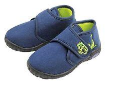 Zapatillas de niños casa zapatos chica adolescente talla 25-29 Azul/ Fucsia/