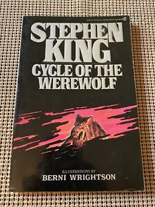 CYCLE OF THE WEREWOLF Stephen King 1985 TRUE FIRST Edition 1st Print Illustrated