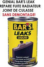 BATEAU! GENIAL BAR'S LEAK REPARE FUITE RADIATEUR JOINT DE CULASSE SANS DEMONTAGE
