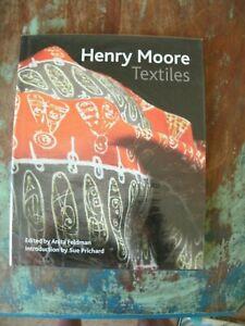 HENRY MOORE TEXTILES HARDBACK