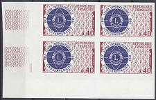 LIONS INTERNATIONAL Nº1534 COLECCIÓN DE 4 SELLO NO DENTADO IMPERF 1967 NEUF MNH