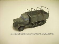wargame vehicle.  WW2 German Opel Maultier truck. 1/56 scale kit for 28mm 823