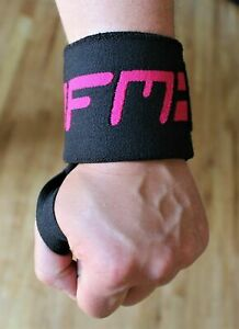 Wrist Wraps Support Weight Padded Training Gym Straps Support Grip Gloves GFM