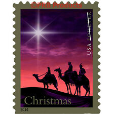 Magi Christmas Book of 20 Forever USPS Postage Stamps Star Camel United States