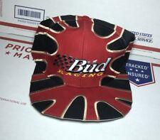 Vintage 90s Starter Budweiser Paint Splat Hat Snapback Big Logo AthletiC RARE.