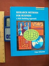 Research Methods for Business: A Skill Building Approach by Uma Sekaran 4th 2003