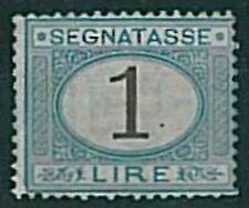 ITALIA REGNO:  Sassone SEGNATASSE  11 - Nuovo linguellato - BELLO!