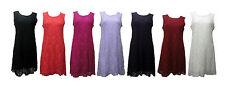 Unbranded Nylon Sleeveless Dresses for Women