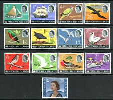 1964 Pitcairn Island Definitives Muh Set of 13 Stamps