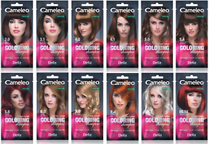 CAMELEO Colouring Shampoo Washable Colours 4-6 washes Hydro Complex 0% Ammonia