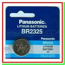 Batteria Pila Litio PANASONIC CR2325 BR2325 ECR 2325 DL2325 L2325 BD2325 SB-T12