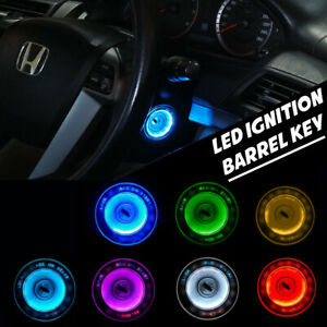 LIGHT LED IGNITION BARREL KEY HOLE MULTI COLOR FIT HONDA ACCORD G8 2008-2012