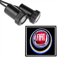 LED Logo Fiat 2x Tür Shadow Licht Einstiegsbeleuchtung Projektor for Alle