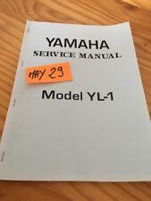 Yamaha 100 YL1 twin jet revue technique moto workshop service Manuel en Anglais