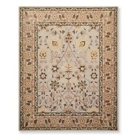 8' x 10' Handmade 100% Wool Traditional Oriental Area rug 8x10 Traditional Beige
