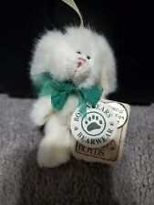 Boyds Bears Bearware Collection Jointed Green Bow