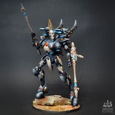 Wraithknight Black Eldar craftworlds warhammer 40K ** COMMISSION ** painting