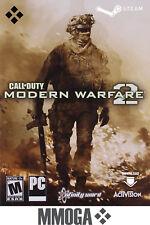 Call of Duty 6 Modern Warfare 2 - PC Steam Jeu Carte - jeu à télécharger - EU/FR