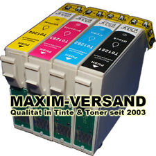 4 Patronen Set ersetzt Multipack Epson T1295 Stylus SX430W SX435W SX440W SX445W
