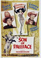 OLD LARGE ROY ROGERS COWBOY MOVIE POSTER, Son Of Paleface 1952 1
