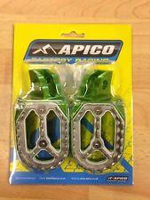 Kawasaki Kx85 Kx 85 2001-2016 Apico Pro Bite amplia Footpegs Estriberas clavijas
