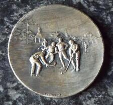 De Colección Hockey Medalla De Plata