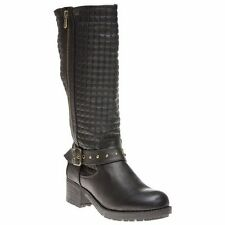 Xti Knee High Boots Synthetic Shoes for Women