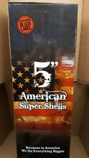"""5"""" American Super Shell labels 6pk with tube label"""