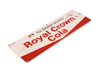 TIN SIGN RC Royal Crown Fresher Vintage Soda Sign Kitchen Cottage Farm A155