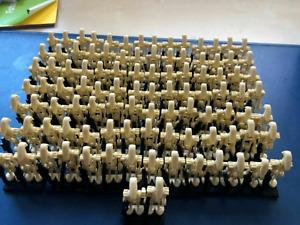100 Pcs MIXTURE Battle Droid GARY Figures - STAR WARS LegoMOC