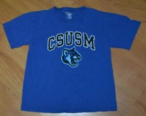 CSUSM California State San Marcos Cougars T Shirt Youth Small 6-7 Nice
