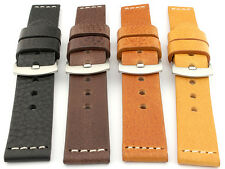 Genuine Leather Watch Strap Band Regular and Extra Long 18 20 22 24 Riviera MM