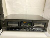 Technics  RS-TR165 Stereo Double Cassette Deck Tapedeck