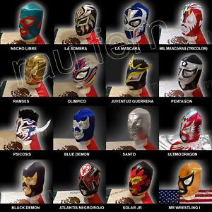 Wrestling Mask Santo Blue Demon Nacho Libre Juventud Guerrera Ramses