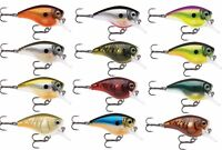 "Rapala Bx Brat 06 Square Bill Crankbait Bass Fishing Lure - 2"" - 10 Colors"