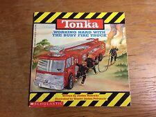 Tonka Working Hard with the Busy Fire Truck Tonka