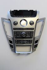 1C 08 CADILLAC CTS CONTROL PANEL FACEPLATE RADIO/HEATER ATC DISPLAY # 25895233