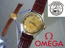 1956 Omega Constellation Automatic Watch Pie Pan Arrowhead Crosshair 505