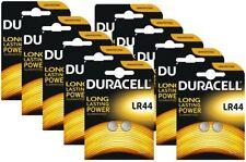 20 x DURACELL LR44 1.5 V Alcalino Pulsante Cella, LR44 A76 AG13 357 SR44