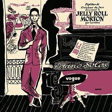 JELLY ROLL MORTON - PIANO SOLOS   VINYL LP NEW+