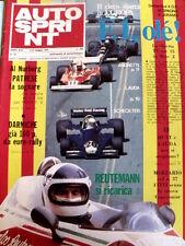 Autosprint 18 1977 James Hunt Niki Lauda - Gp Spagna - Merzario  [Sc.40A]